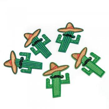 Тканинна нашивка Кактус-мексиканець