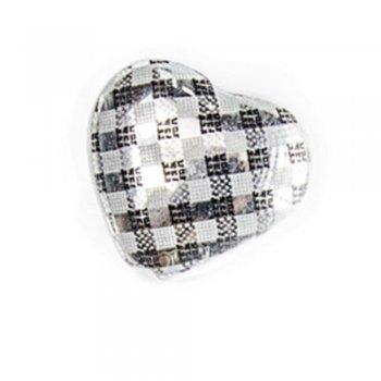Пластик з голографічним покриттям. Серце