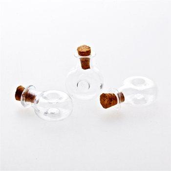 Колба скляна 11 мм бульбашка