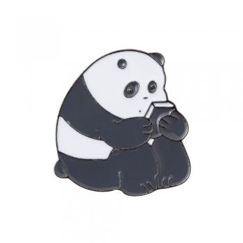 Значок пін Панда