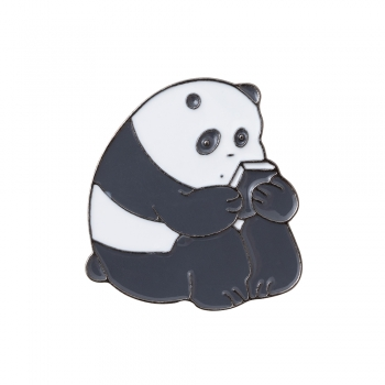 Значок пин Панда
