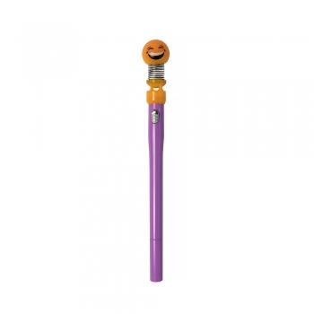 Ручка светящаяся смайлик эмодзи