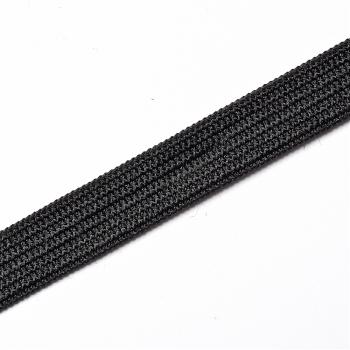 Резинка бельевая черная ширина 10 мм