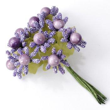 Декоративные элементы Сиреневые цветы