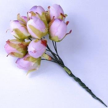 Штучні квіти. Рожевий. Діаметр 16 мм, довжина 10 см.