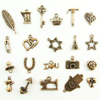 Ключ ажурний, металева підвіска