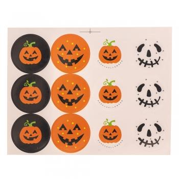 Стикеры Halloween 1 лист, 12 наклеек