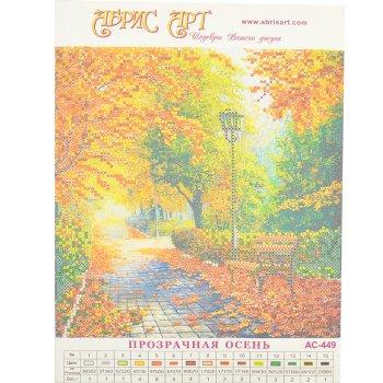 Схема для вышивки бисером «Прозрачная осень»