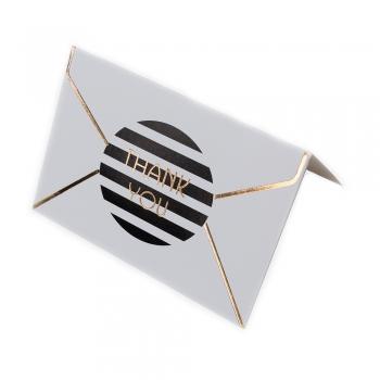 Листівка 90х65 мм Thank you конверт