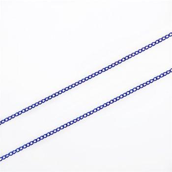 Ланцюг кольоровий панцирний синій