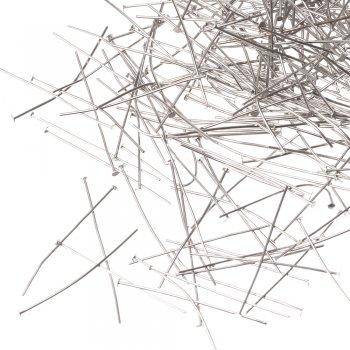 Бижутерные гвоздики мельхиоровые 40 мм