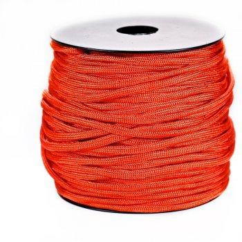 Шнур паракорд красный полиэстер 4 мм