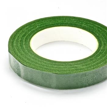 Лента клеевая бумажная 20 м зелёная