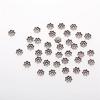 Обниматели медь цветок 5 мм