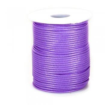 Плетений шнур світло-бузковий синтетика 2 мм
