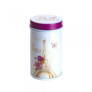 "Коробочка жестяная 4х7,5 см ""Paris"""