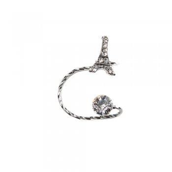 Сережки-Кафи з Ейфелевою вежею