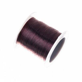 Металева волосінь 220 м (+-10%). Чорний. Діаметр 0,60 мм