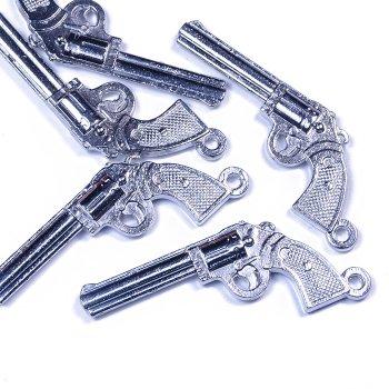 Кулон металевий пістолет