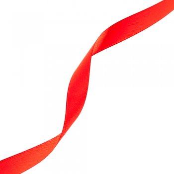 Лента атласная. Красный. 14 мм