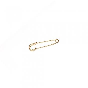 Англійські шпильки для брошки золотий 50 мм