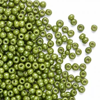 Бисер калиброванный светло-зеленый