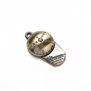 Кулон металевий Кепка