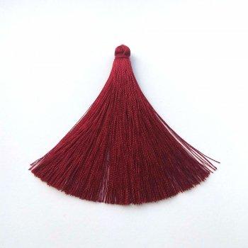 Текстильні китиці бордові