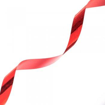 Лента упаковочная яркий красный глянцевый