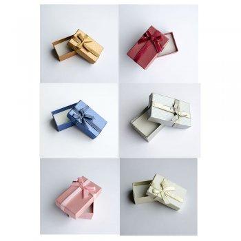 Коробочка картонна подарункова 8 * 5 * 3 см