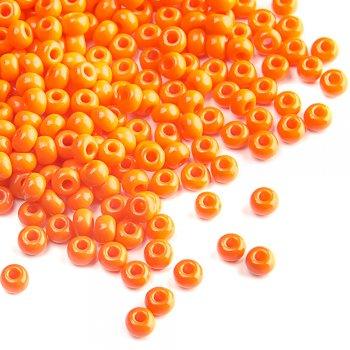93140 чешский бисер Preciosa 5г  оранжевый