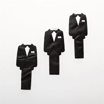 Текстильные дутые элементы мужской костюм