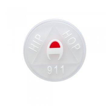 Резиновая (силиконовая) нашивка HIP HOP 911