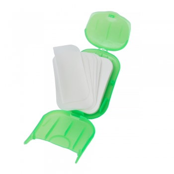 Паперове мило в пластикових боксах (в упаковці 20шт)