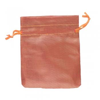 Мешочек полиэстеровый 12х10см оранжевый