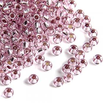 78195 чешский бисер Preciosa 5г  розовый