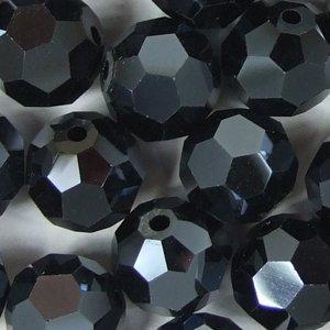 Хрустальные бусины гематит 8 мм