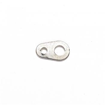 Переходники для карабинов серебристый каплевидная плоская 8 мм