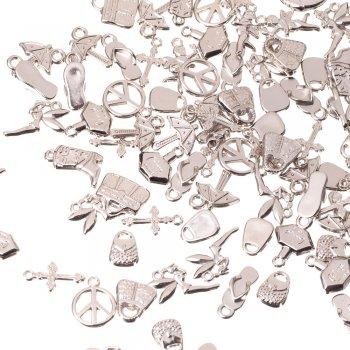Ключ маленький. Пластик під метал. Мельхіоровий. Мікс розмірів.