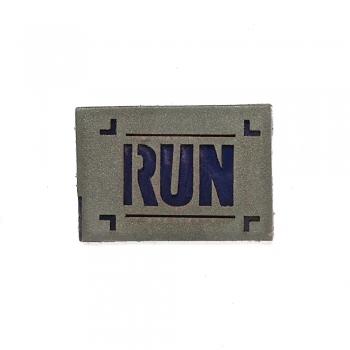 Светоотражающая нашивка Run