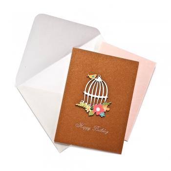 Открытка с конвертом Happy Birthday