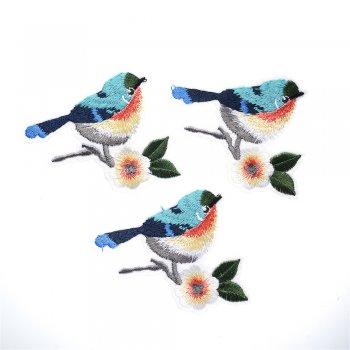Тканевая нашивка Птица