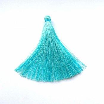 Текстильні китиці блакитні