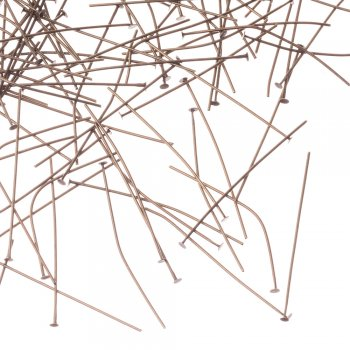 Біжутерні цвяшки бронза 50 мм