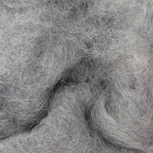 Вовна-кардочёс новозеландська сріблясто-сіра 25г, К1004