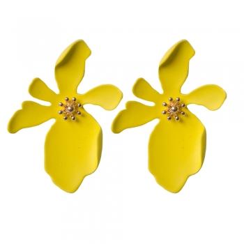 Сережки квітка жовта