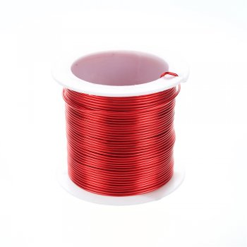 Дріт алюмінієвий 1 мм червоний котушка 15 м (+-10%)