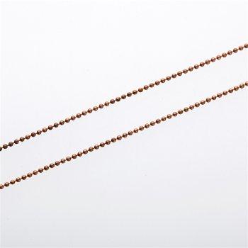 Ланцюг фігурний, мідь, діаметр 2 мм
