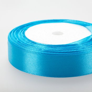 Лента атласная, цвет темно-голубой, ширина 2 см