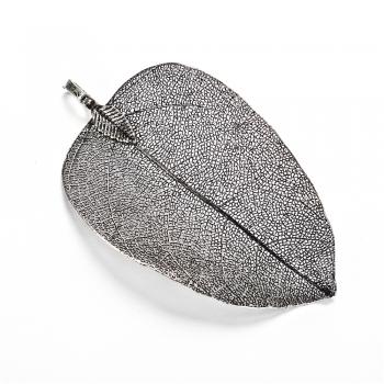 Кулон металлический Стальной лист
